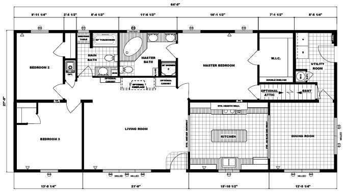 RA2EL0701 Floorplan Large