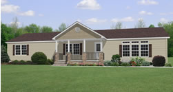 Ranch Style Double Wide Home Belden Homes Inc