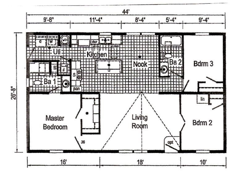 Commodore Astro 3a2006pb2 Floorplan