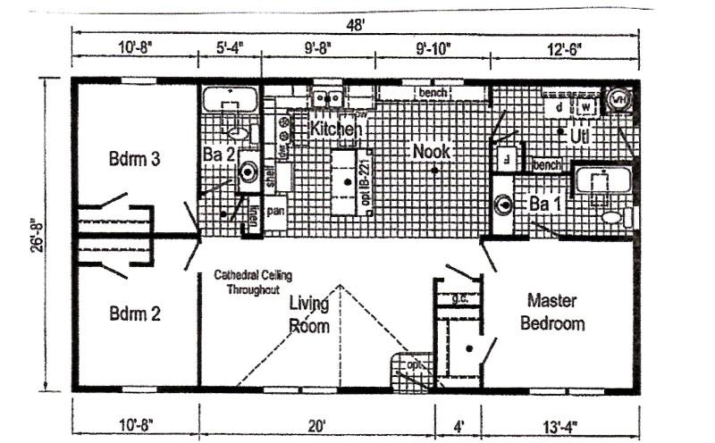 Commodore Astro TD1006p11 Floorplan