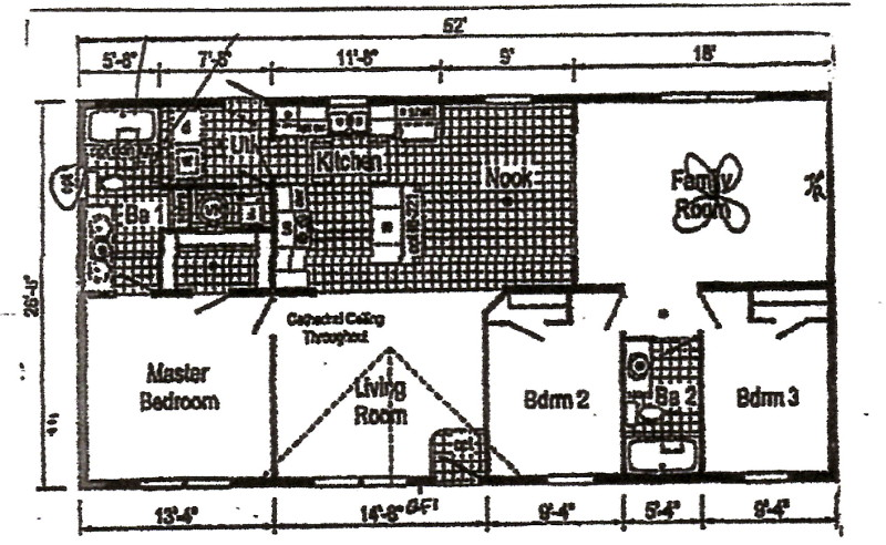 Commodore Astro TD1007p1 Floorplan